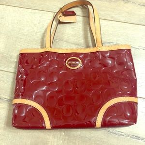 Coach Peyton Embossed Mini Tote